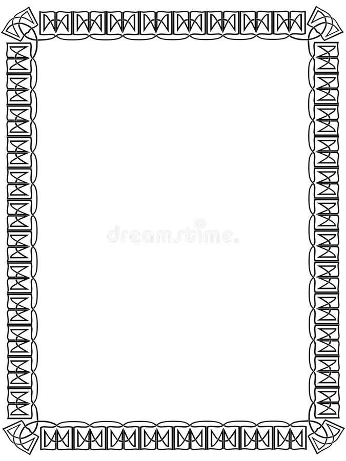 celt graniczny royalty ilustracja