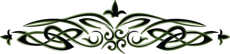 Celt pattern. Ancient celtic decoration. Vector design stock illustration