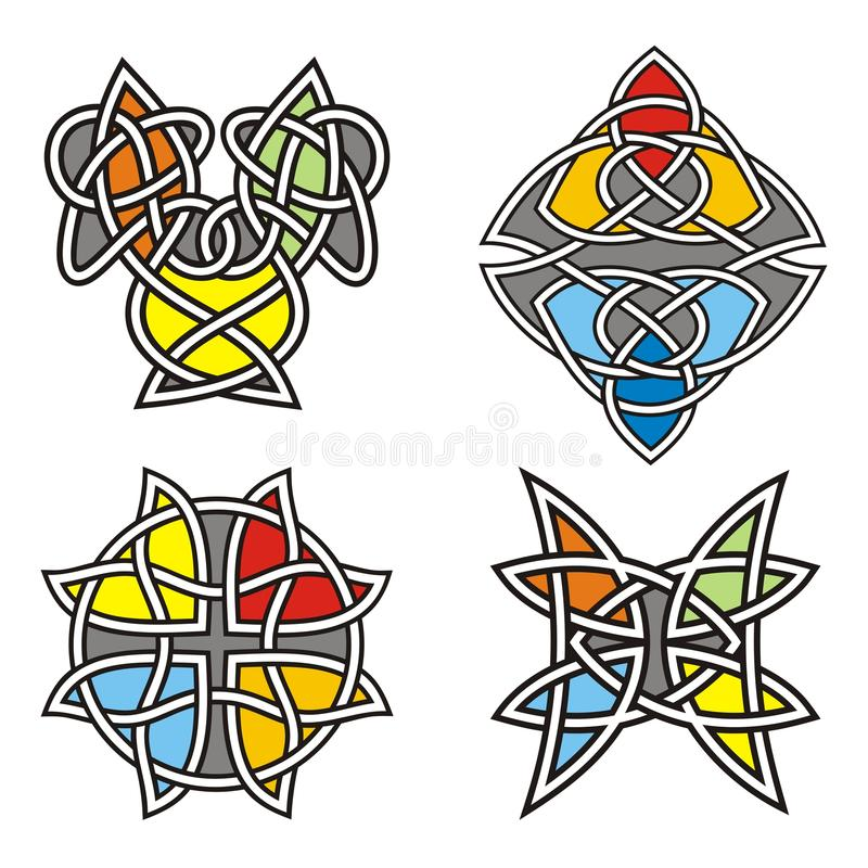 celt projektuje ornamental ilustracja wektor