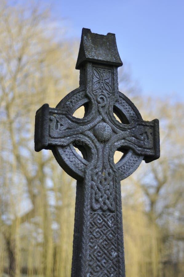 celta krzyż obraz stock