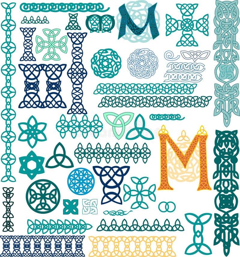 celta ornament zdjęcie stock
