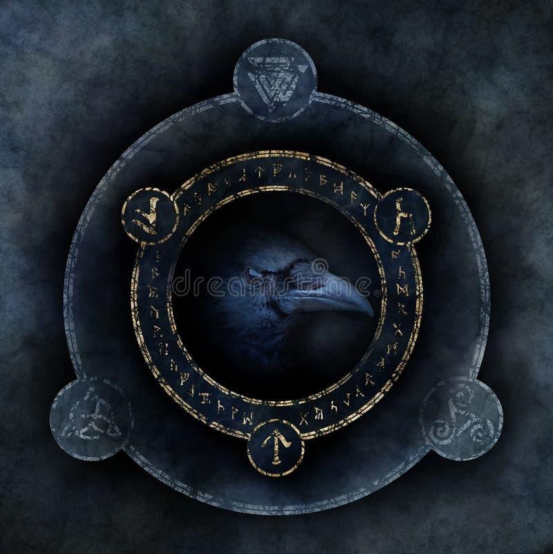 Celta Wroni proroctwo zdjęcie stock
