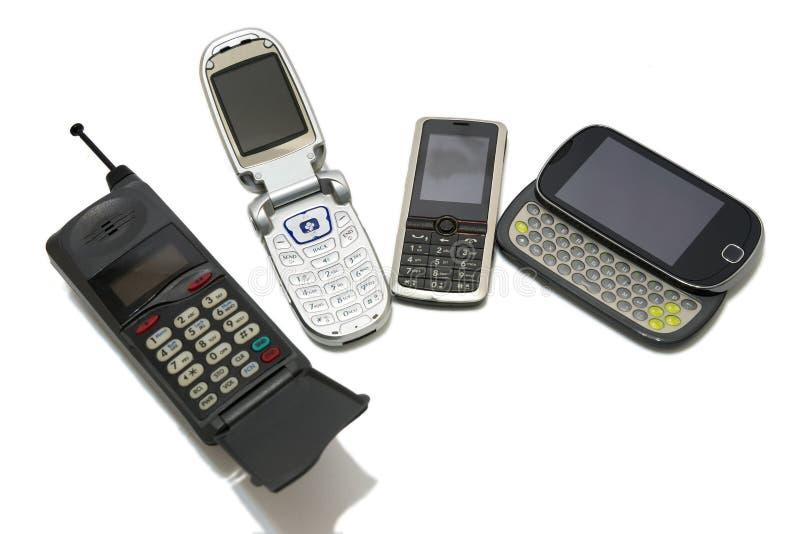 Celtelefoons royalty-vrije stock afbeeldingen