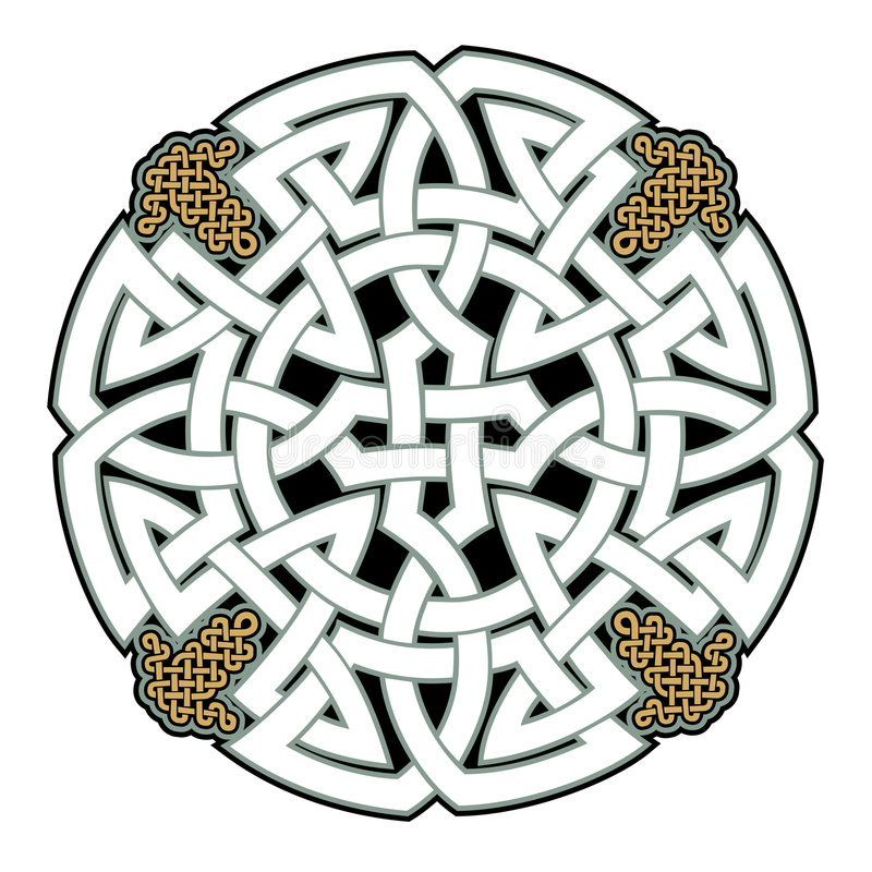 celtic royaltyfri illustrationer