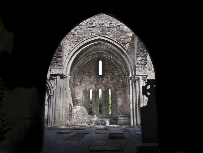 Celtic ancient church royalty free stock images