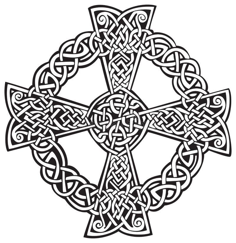 Celtic Cross royalty free illustration