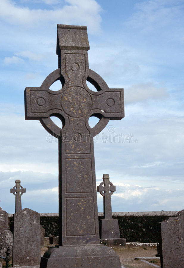 Download Celtic Cross stock image. Image of grave, carving, celtic - 16296617