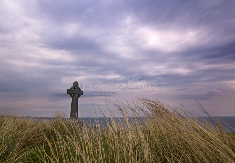 Celtic cross stock photography