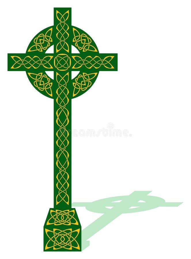 Download Celtic cross stock vector. Illustration of colour, ribbon - 7260360