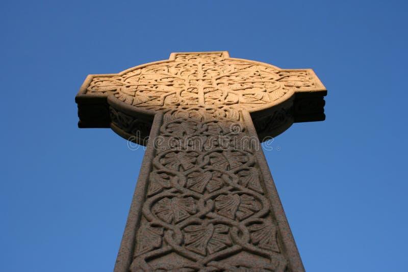 Celtic Cross In Necropolis Glasgow Stock Photo