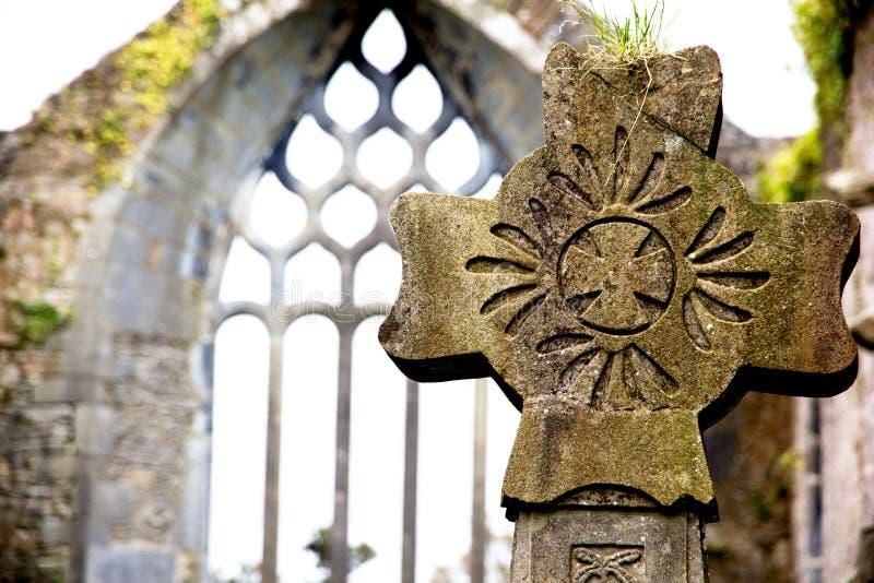 Celtic cross royalty free stock photography