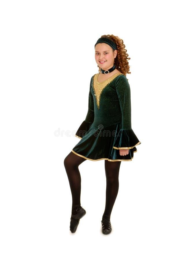 celtic dansare royaltyfri fotografi