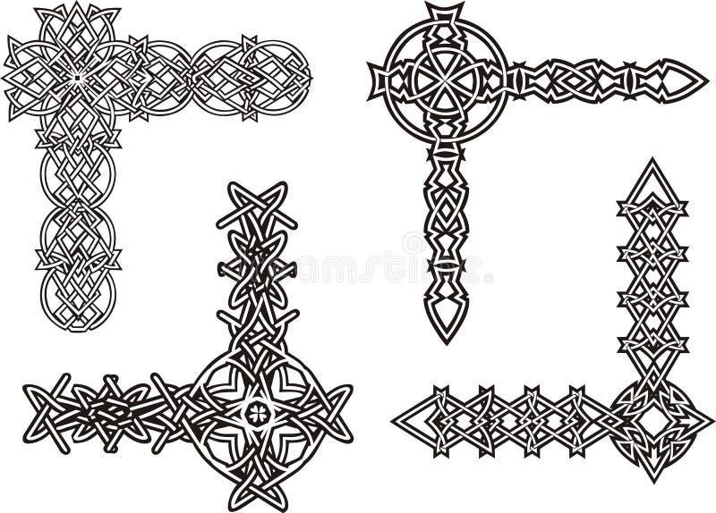 Download Celtic Decorative Knot Corners Stock Image - Image: 29245711