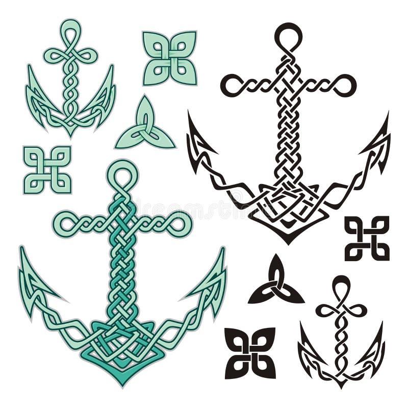 Celtic dell'ancoraggio illustrazione di stock