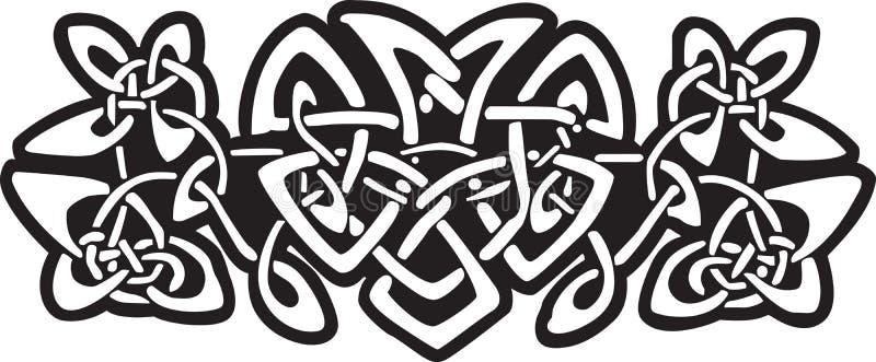 celtic design stock illustrationer