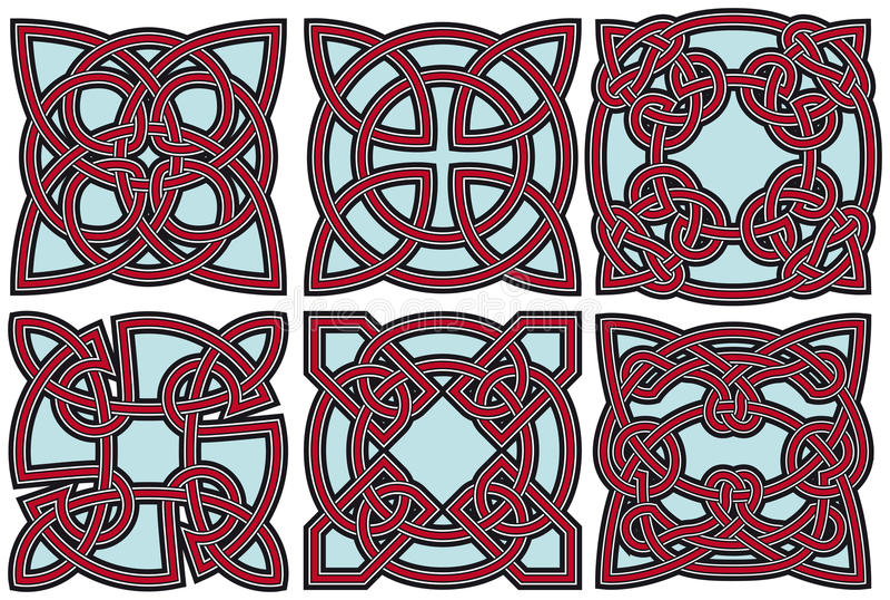Download Celtic design elements set stock vector. Image of eps8 - 17598178