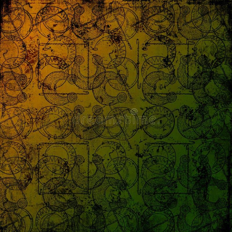 Free Celtic Druid Tools 3 - Grungy Background Stock Image - 3753231