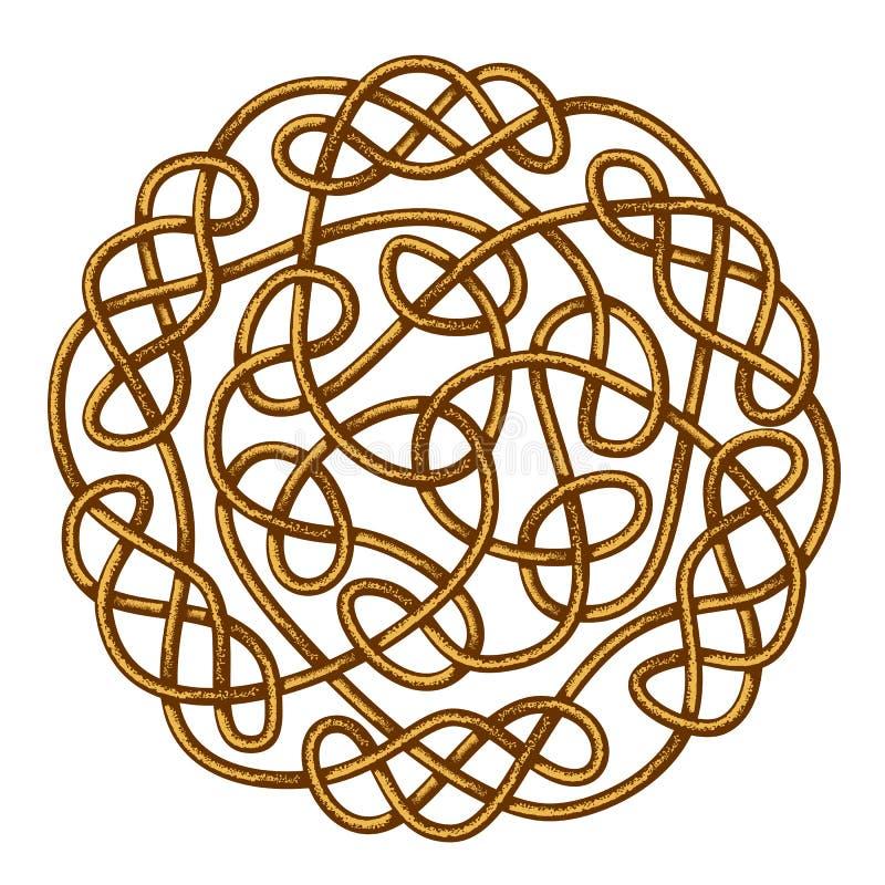 Celtic fnurra stock illustrationer