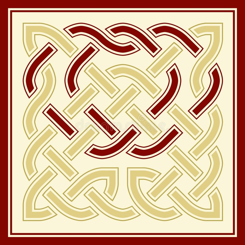 celtic fnurra royaltyfri illustrationer