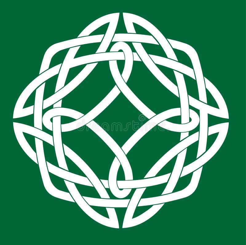 Celtic fnurramotiv vektor illustrationer