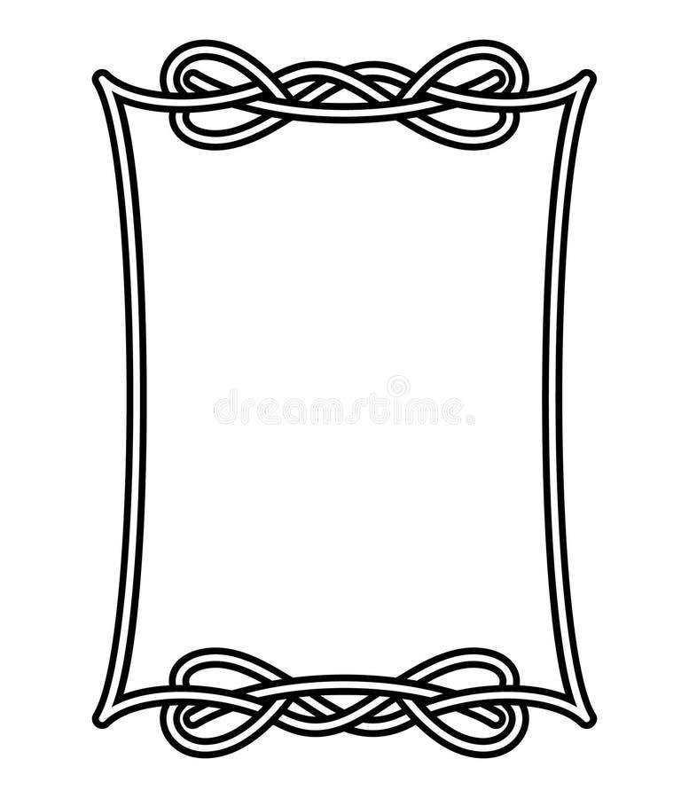 Download Celtic frame 1 stock vector. Illustration of framed, card - 12990972
