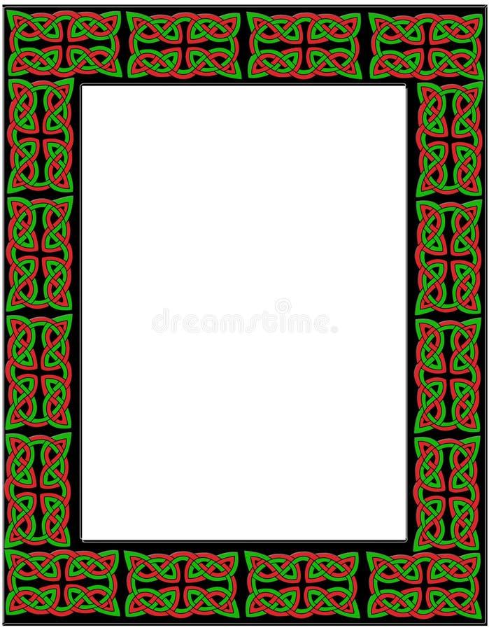 Celtic frame vector illustration