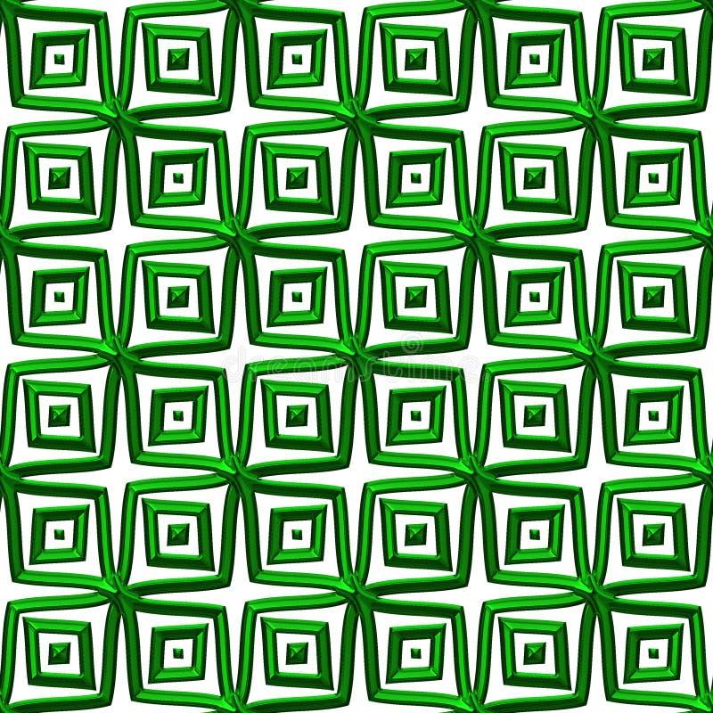 celtic gröna fnurror vektor illustrationer