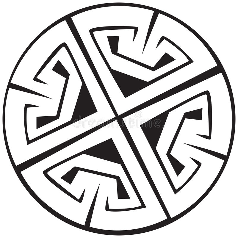 celtic illustrationmodellvektor vektor illustrationer