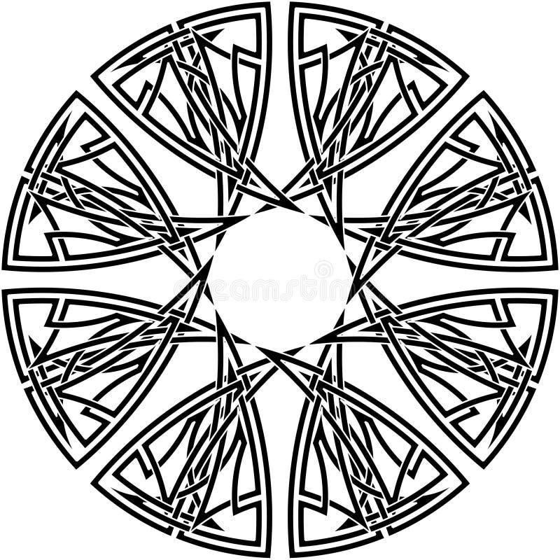 Celtic knot #13 vector illustration