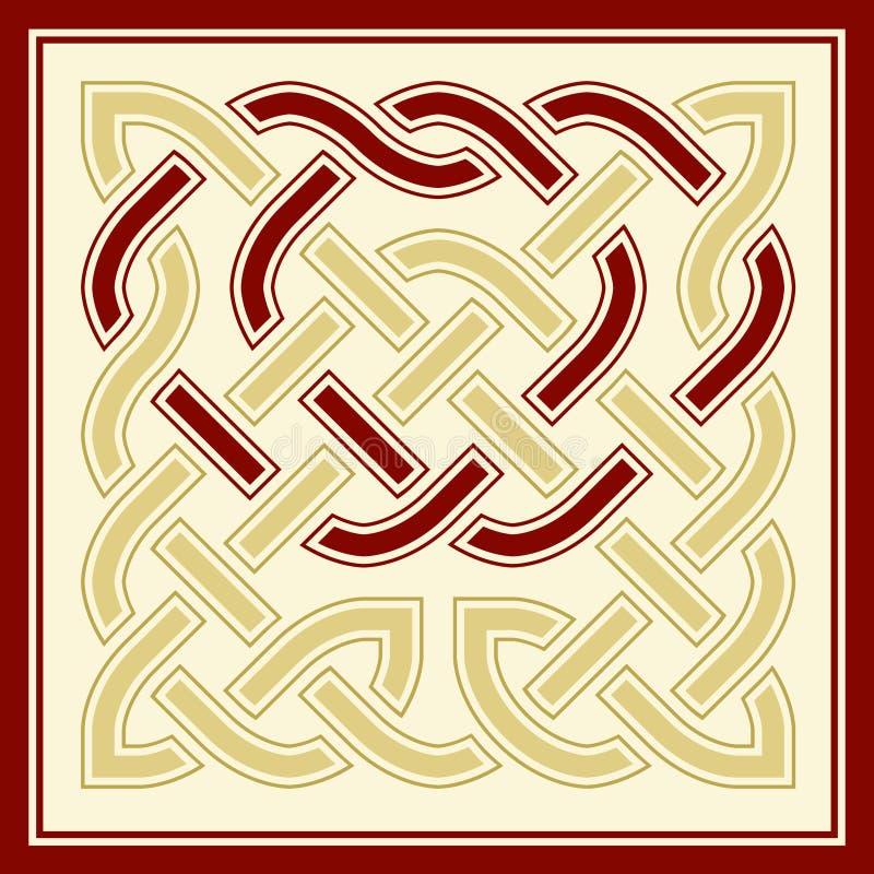 A celtic knot royalty free illustration