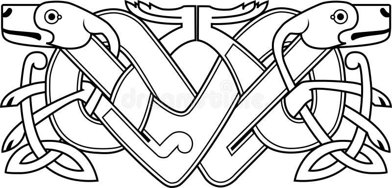 Celtic knot stock illustration