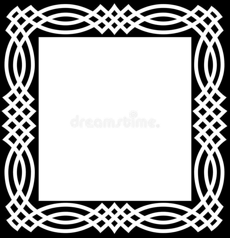 celtic knot border stock vector illustration of irish 12767947 rh dreamstime com ornament celtic border vector celtic border clipart vector