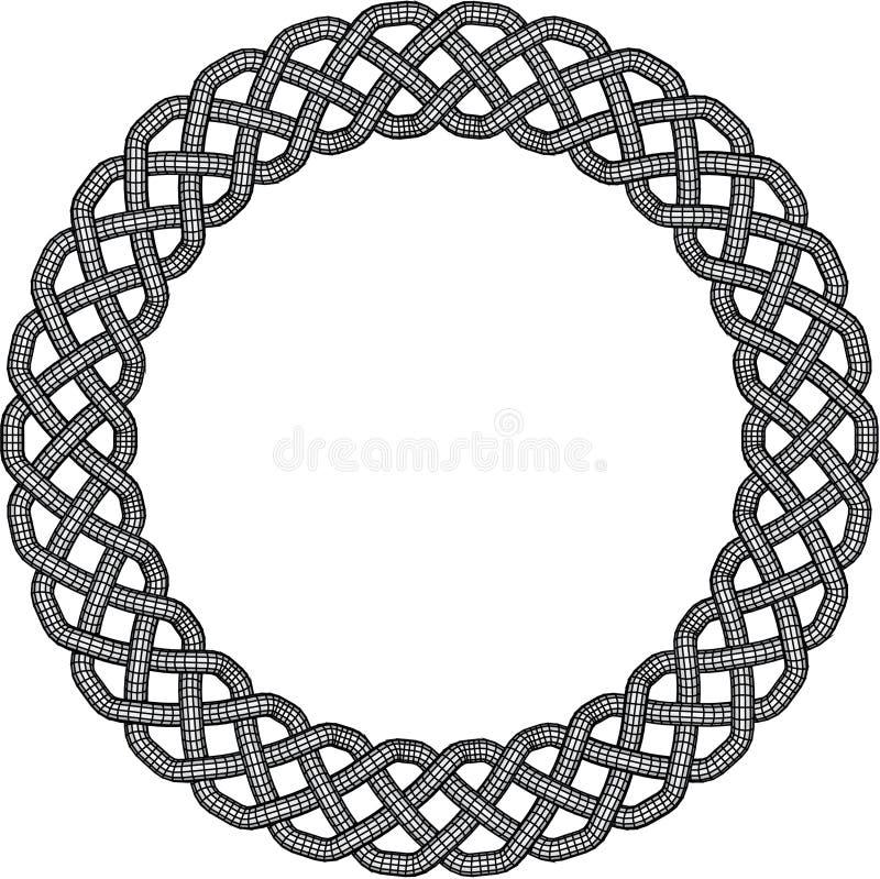 Celtic Knot Border royalty free stock photos