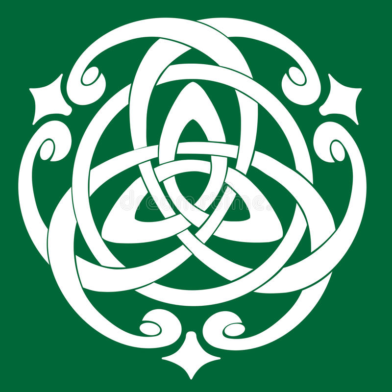 Celtic Knot Motif royalty free illustration