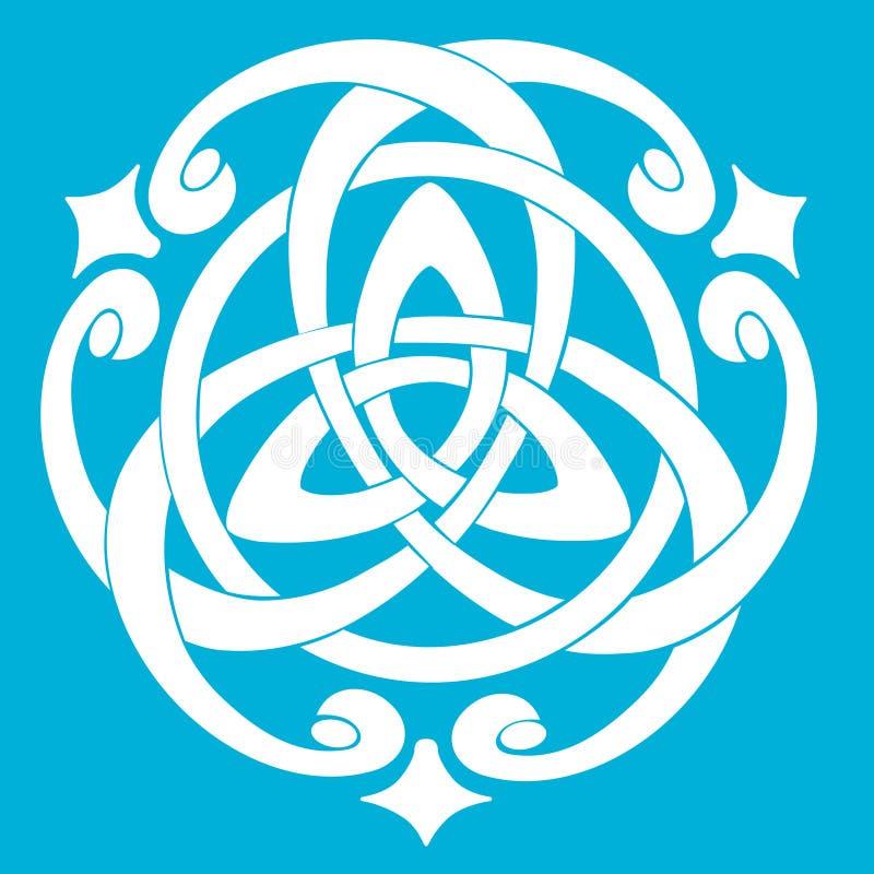 Download Celtic Knot Motif stock vector. Image of frame, design - 18183743