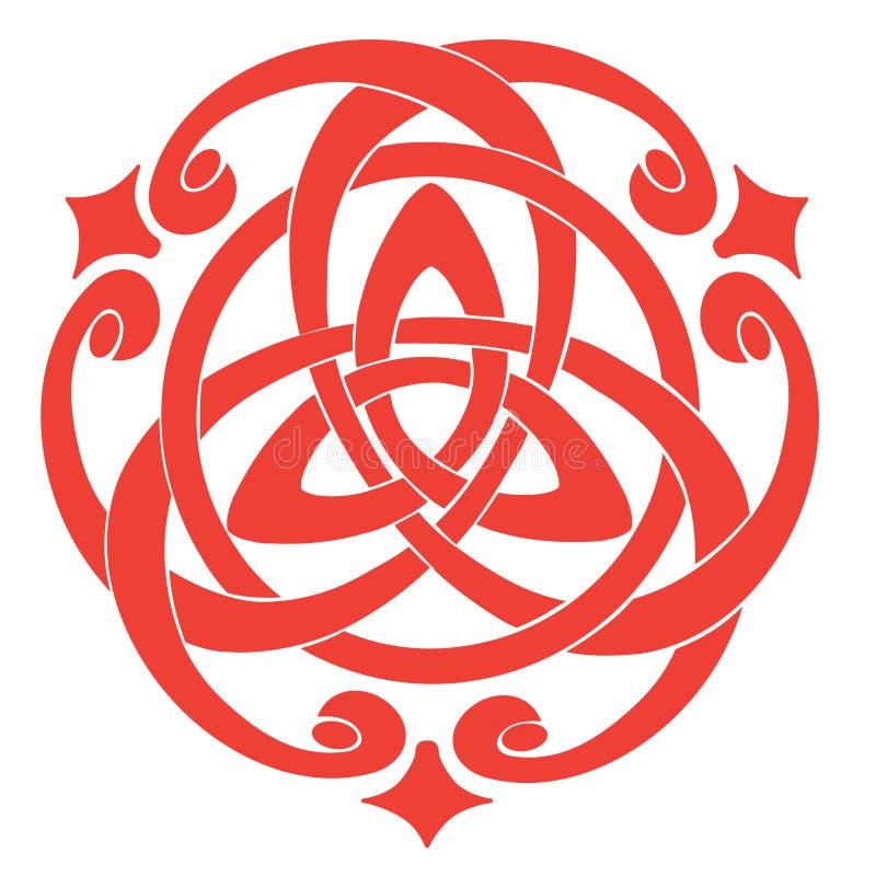 Download Celtic Knot Motif stock vector. Illustration of beauty - 18233870