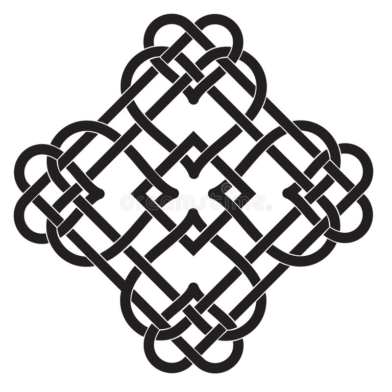 Download Celtic Knot Motif stock vector. Image of beauty, graphic - 9225946
