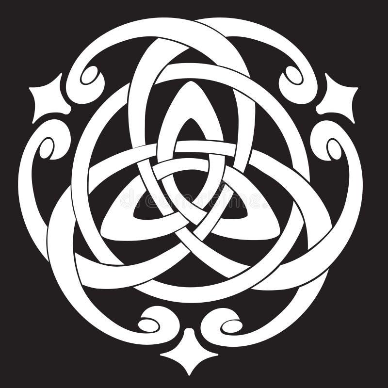Celtic Knot Motif stock illustration