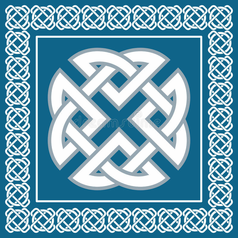 Free Celtic Knot,symbol Represents Four World Elements,vector Royalty Free Stock Image - 40144986