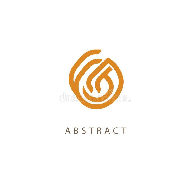 Celtic knot vector. Ornamental tattoo symbol. Luxury circle retro emblem.Traditional scottish vector logo. Simple Line Art Ornate royalty free illustration