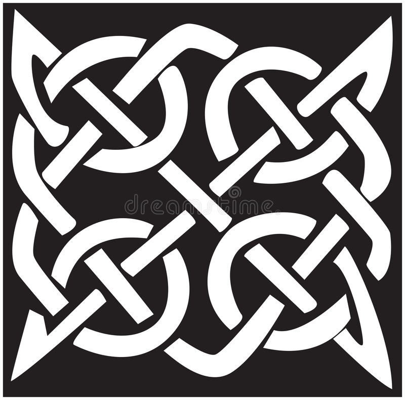 Download Celtic knots stock vector. Image of rendering, square - 12329504