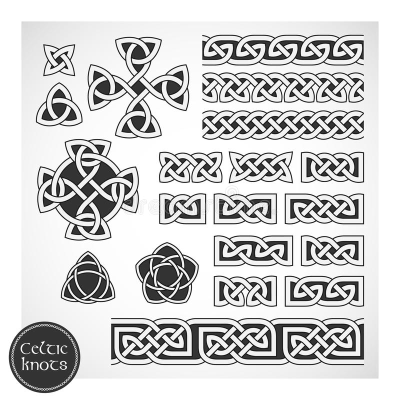 Download Celtic knots stock vector. Image of collection, folklore - 19971573