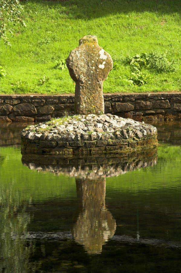 celtic kors arkivfoto