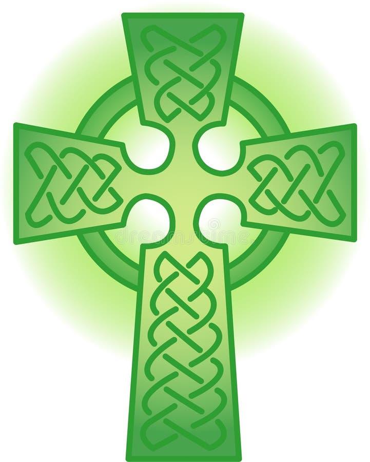 celtic kors stock illustrationer