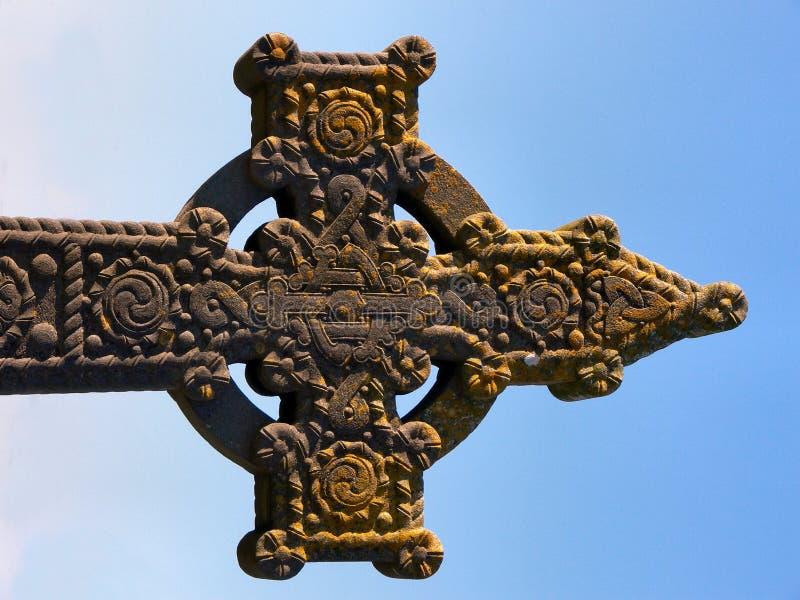 celtic kors royaltyfria foton