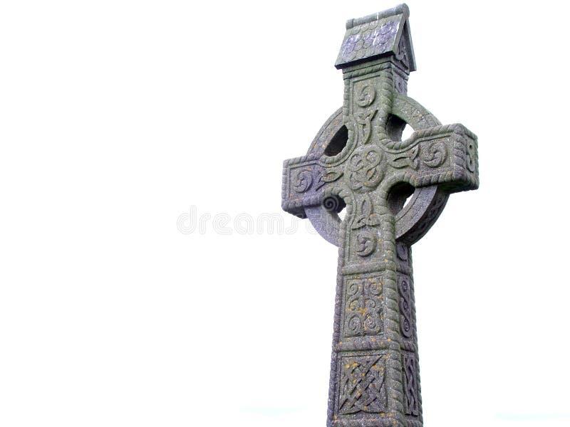 celtic kors arkivbild