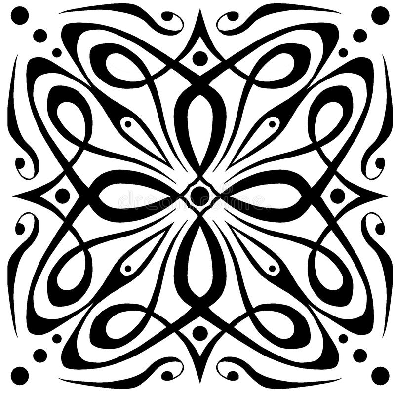Celtic line texture repeat royalty free stock images