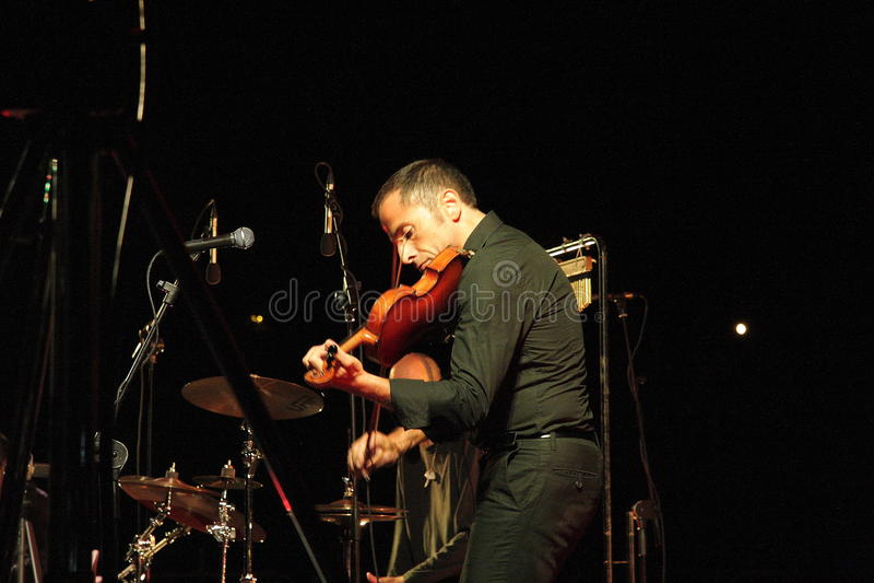 Celtic music concert stock photo