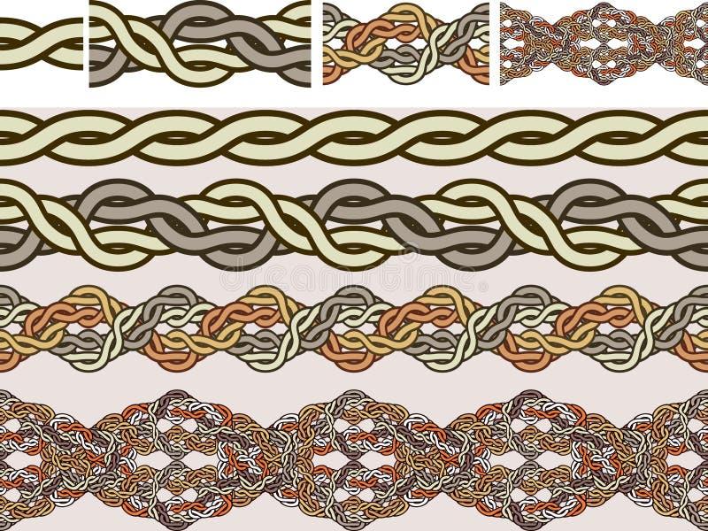 Celtic national ornaments vector illustration