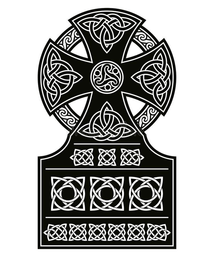 celtic nationella prydnadar royaltyfri illustrationer